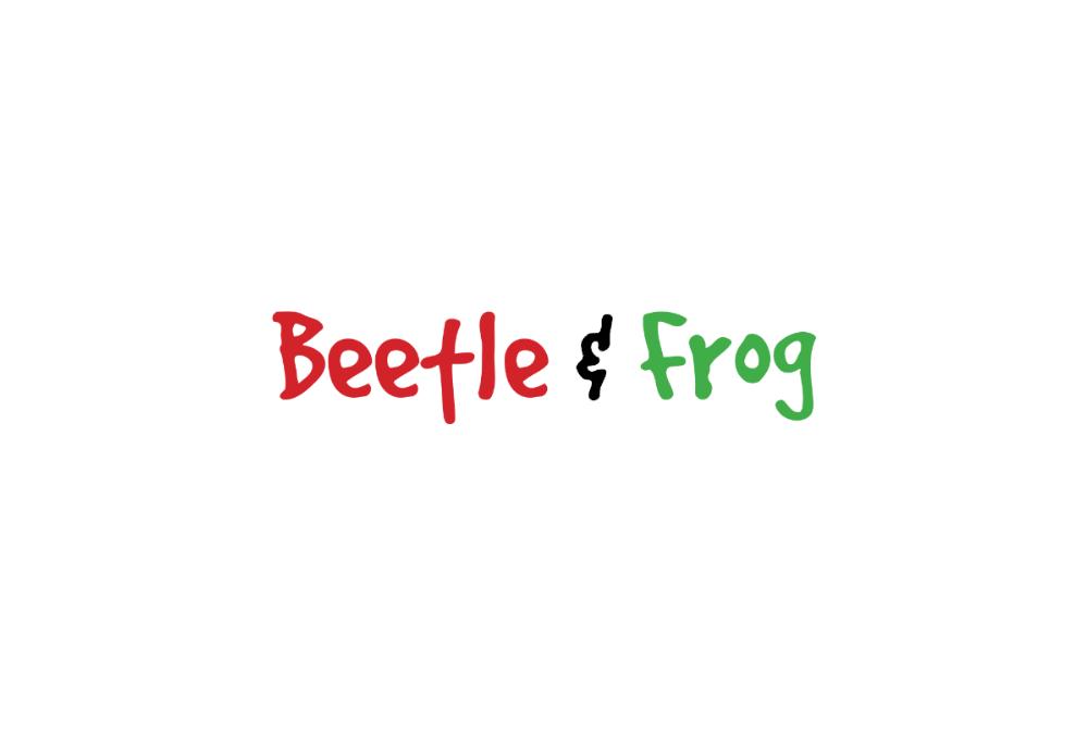 Beetle and Frog logo