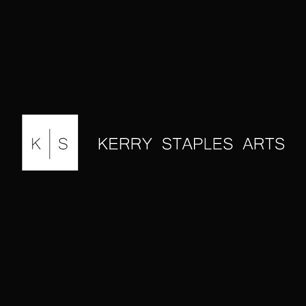 Kerry Staples Arts reverse logo